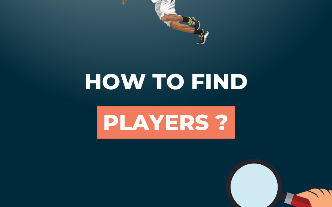 How to find players on Sportiw ?