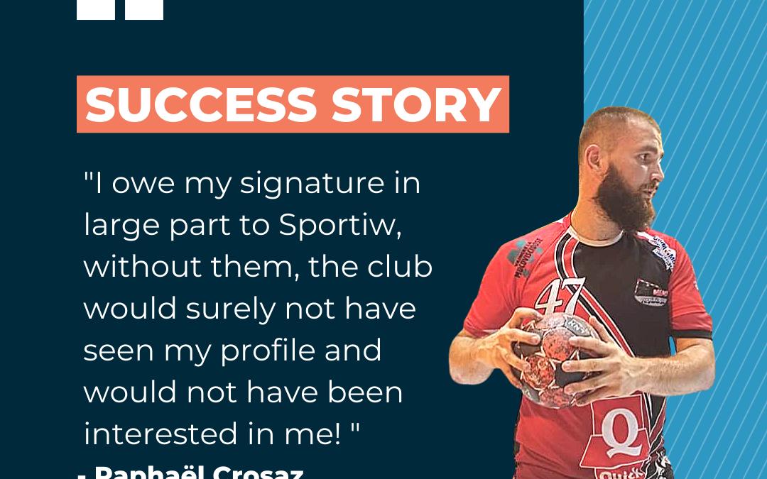 Success Story – Raphaël Crosaz
